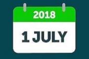 Single payroll update 2018 1 july