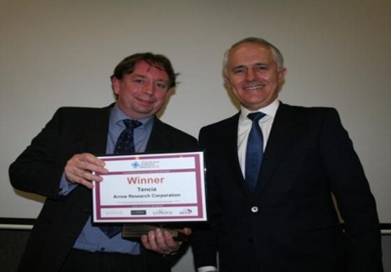 Tencia receives innovation award